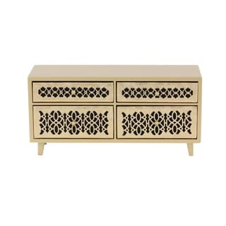 Studio 350 Wood Jewelry Chest 15 inches wide, 7 inches high