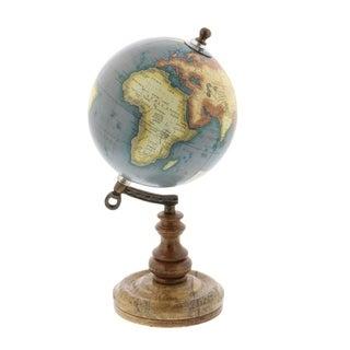 Havenside Home Buckroe Antique Metal/ Wood/ Marble/ Globe (5'' x 10'')