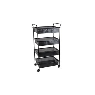 Studio 350 Metal Black Cart 21 inches wide, 40 inches high