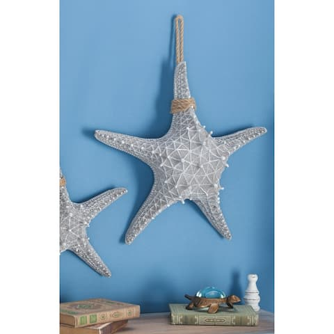 Studio 350 PS Rope Starfish 20 inches wide, 20 inches high