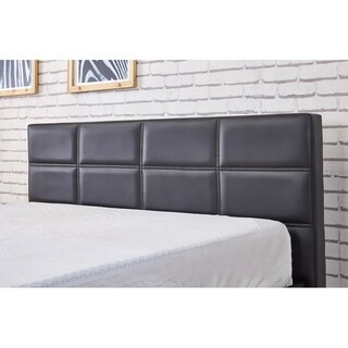 Belle Modern Faux Leather Full Size Platform Bed (3 options available)