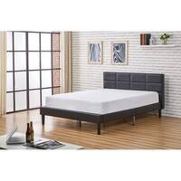 Belle Modern Faux Leather Full Size Platform Bed