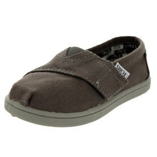 Toms Toddlers Tiny Classics Ash Canvas Casual Shoe