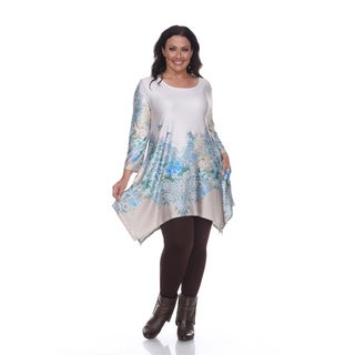 White Mark Plus Size 'Inez' Tunic