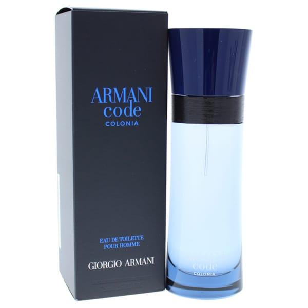 37b6c5e9d599 Shop Giorgio Armani Armani Code Colonia Men s 2.5-ounce Eau De Toilette -  Free Shipping Today - Overstock - 17619272