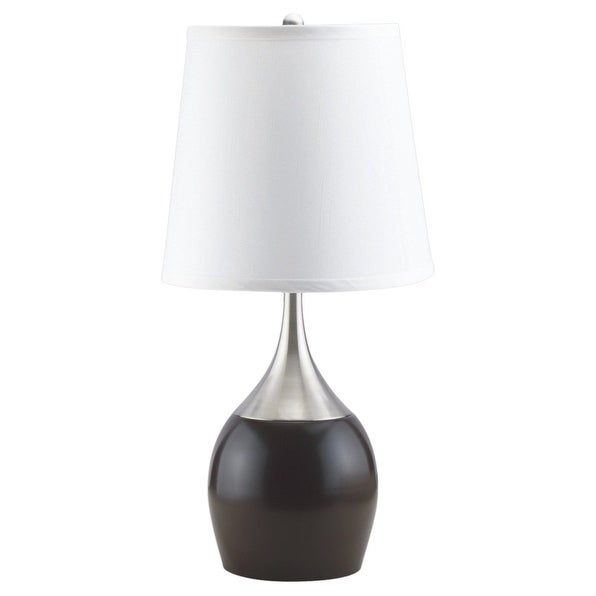 "Q-Max Touch-on 24"" Table Lamp, Expresso"