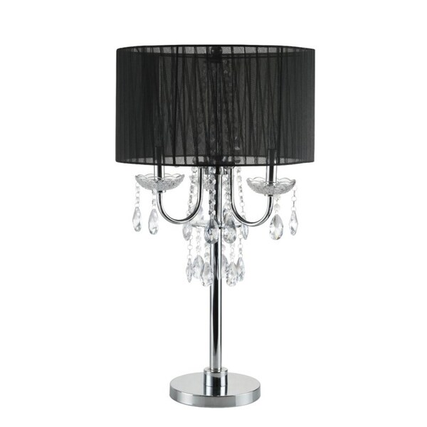 Q max crystal inspired touch 29 5 h table lamp