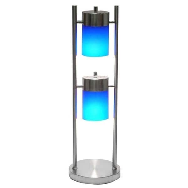 Q-Max 3031 Table Lamp 2-way Adjustable Table Lamp, Blue