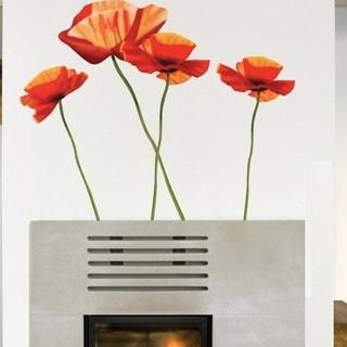Poppies Designer Wall Vinyl