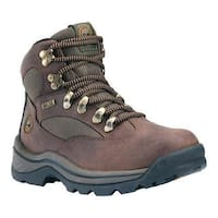 Men's Timberland Chocorua Trail Waterproof Hiking Boot Brown w/ Green