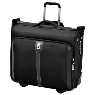 London Fog Knightsbridge 44-inch Black Rolling Garment Bag