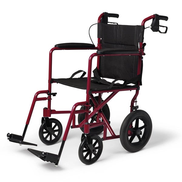 Medline Deluxe Aluminum Transport Wheelchair