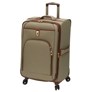 London Fog Cambridge 25-inch Expandable Spinner Upright Suitcase