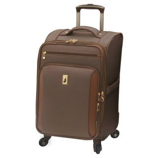 London Fog Kensington 21-inch Carry-On Expandable Spinner Suitcase