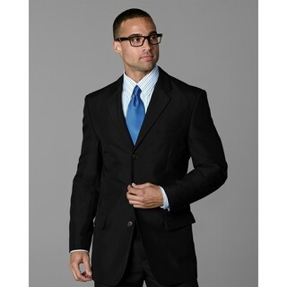 Twin Hill Mens Jacket Black Performance 3-button
