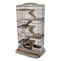 Ware Mfg. Inc. Clean Living 6.0 Small Animal Cage for Chinchilla and Ferret