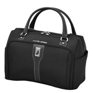 London Fog Knightsbridge 17-inch Black Carry On Cabin Tote Bag