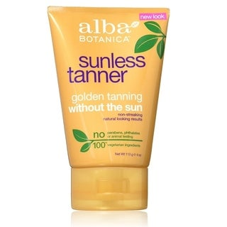 Alba Botanica Sunless 4-ounce Golden Tanning Lotion
