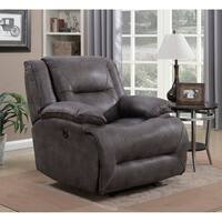 Dylan Power Recliner with Memory Foam Seat Topper and USB Charging Port