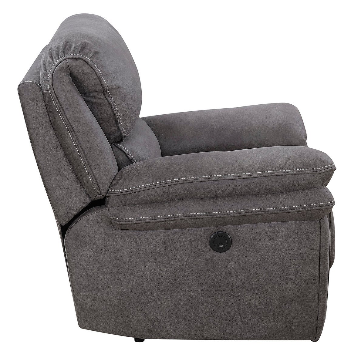 Astounding Henry Power Recliner With Memory Foam Seat Topper And Usb Charging Port Ncnpc Chair Design For Home Ncnpcorg