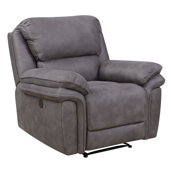 Remarkable Shop Henry Power Recliner With Memory Foam Seat Topper And Ncnpc Chair Design For Home Ncnpcorg