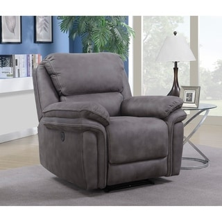 Henry Power Recliner with Memory Foam Seat Topper and USB Charging Port
