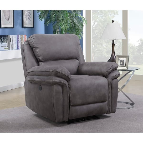 Awesome Shop Henry Power Recliner With Memory Foam Seat Topper And Ncnpc Chair Design For Home Ncnpcorg