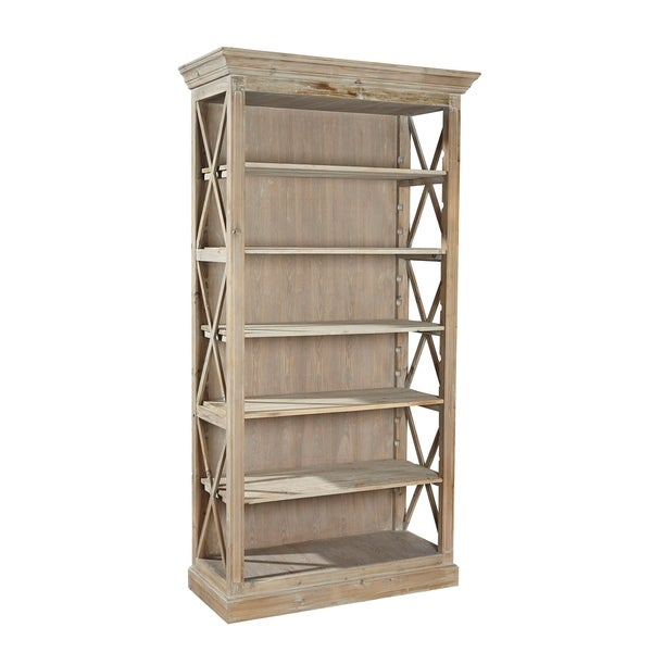 Shop Nilah Open Sided Bookcase Free Shipping Today