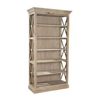 Nilah Reclaimed Fir Open-sided Bookcase