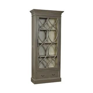 Anubis Latticed Mahogany Cabinet