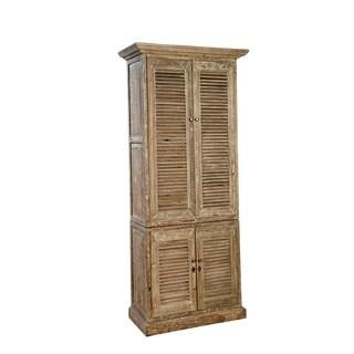 Cleo Shuttered Linen Cabinet