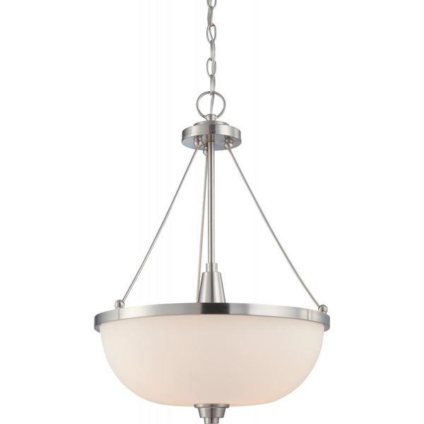 Nuvo Lighting Helium Metal 3-light Pendant