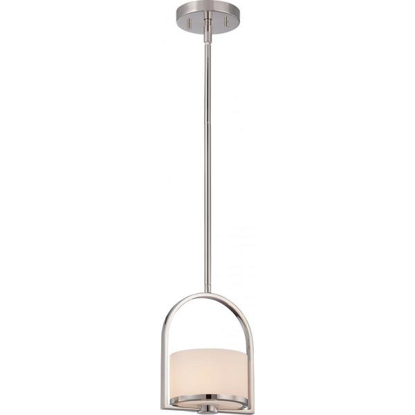 Nuvo Lighting Celine Nickel 1-light Mini Pendant