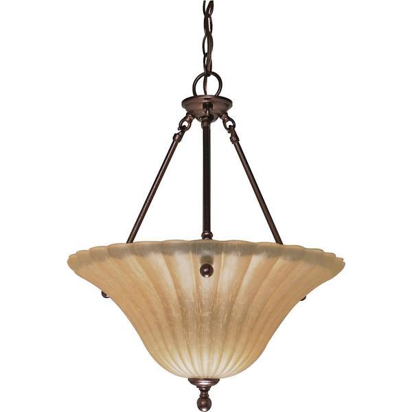 Nuvo Lighting Moulan 3-light Pendant