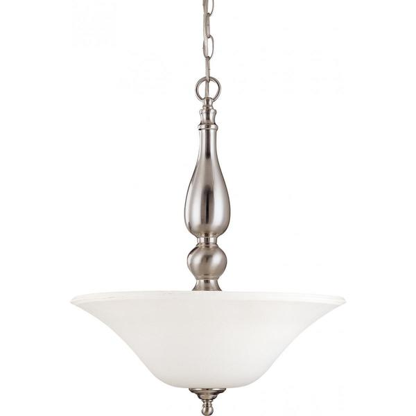 Nuvo Lighting Dupont Nickel Finish Metal 3-light Pendant