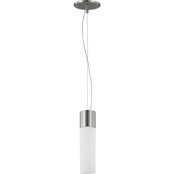 Nuvo Lighting Link NIckel Finish Metal 1-light Pendant