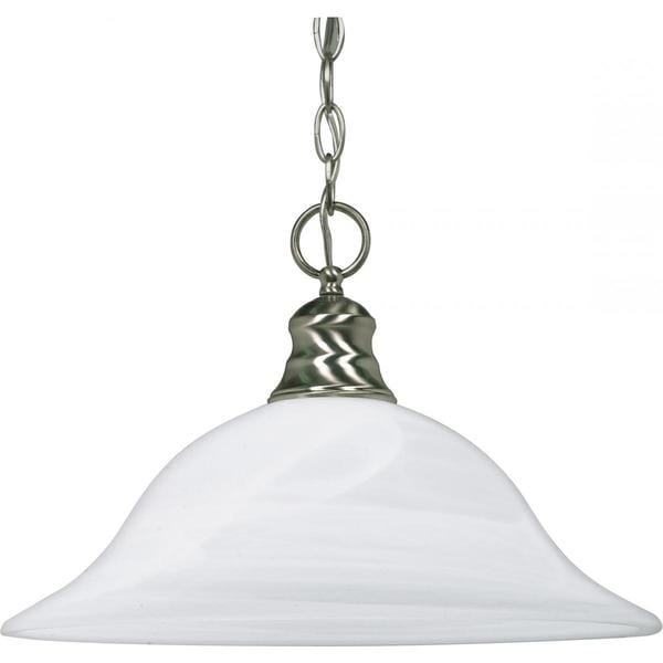 1 Light Hanging Dome Pendant