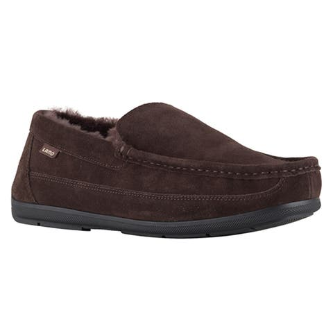 Lamo Sheepskin Mens Lewis Chocolate Moc