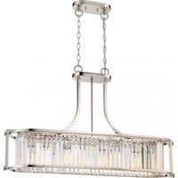 Nuvo Lighting Krys Nickel Metal Trestle Pendant