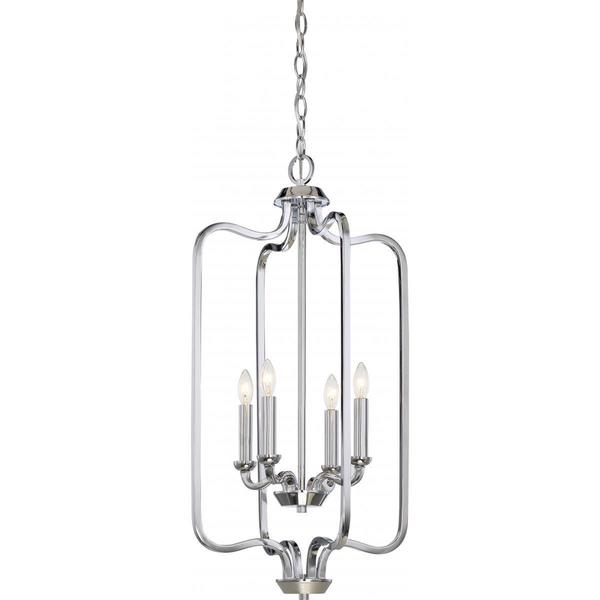 Nuvo Lighting Willow 4-light Caged Pendant
