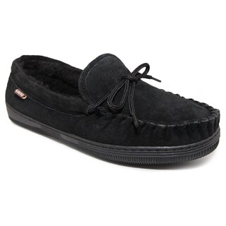 Lamo Sheepskin Men's Black Moc