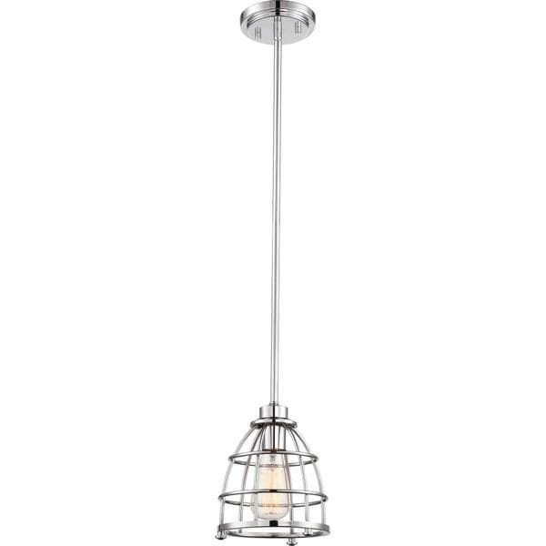 Nuvo Lighting Maxx Polished Nickel 1-light Small Pendant