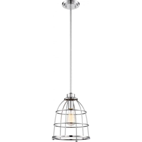 Nuvo Lighting Maxx Nickel-finish 1-light Large Pendant