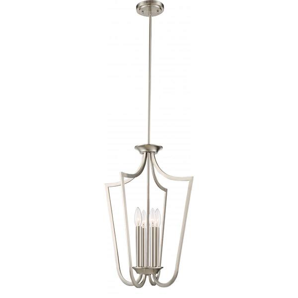 Nuvo Lighting Laguna 4-light Cage Pendant