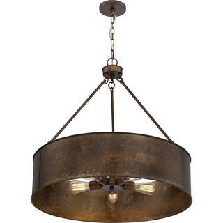 Nuvo Lighting Kettle Antique Copper Finish 5-light Oversized Pendant