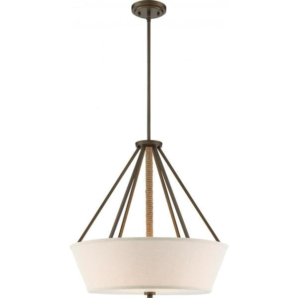 Nuvo LIghting Seneca 4-light 22-inch Pendant