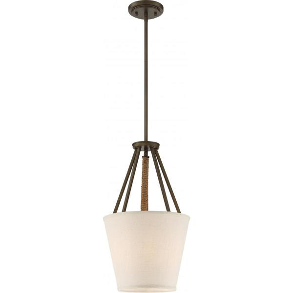 "Nuvo Lighting Seneca 12-inch 3-light Pendant - Diameter 12.00"", Height 20.63"""