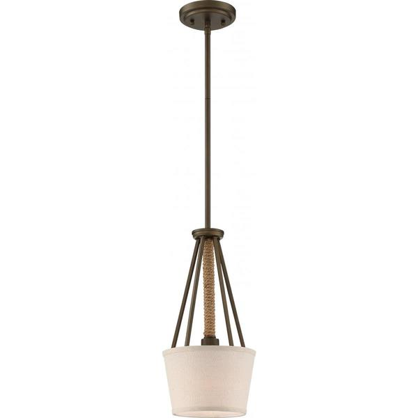 Nuvo Lighting Seneca 1-light Mini Pendant
