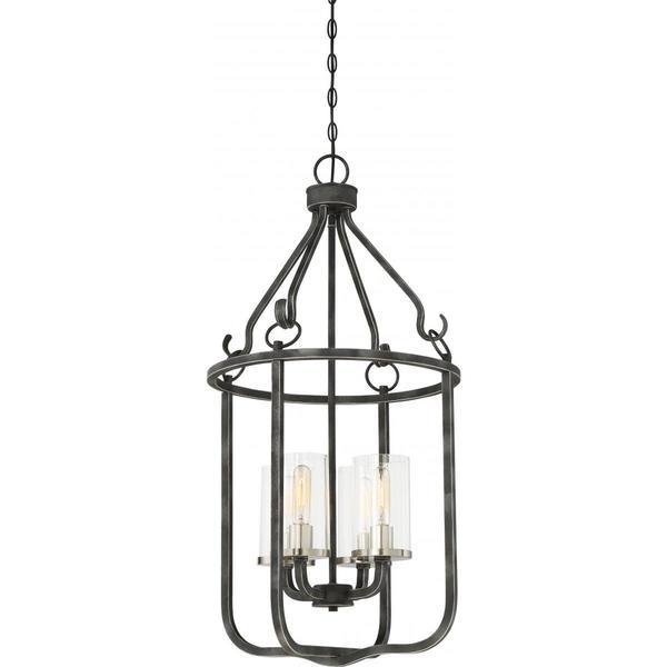 Nuvo Lighting Sherwood 4-light Caged Pendant