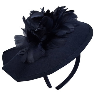 Hatch Women's Feathered Bow Wool Cashmere Cocktail Fascinator Hat
